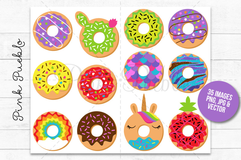 donut-clipart-and-vectors