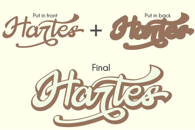 the-hartes-extrude-retro-script-font