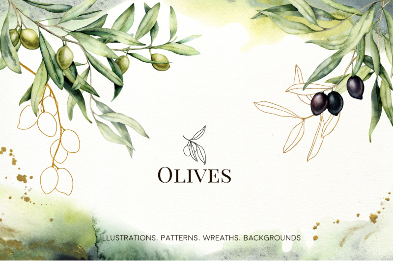 olives-watercolor-collection