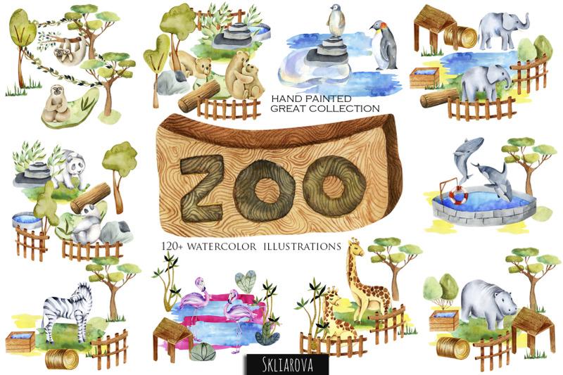 zoo-big-watercolor-collection