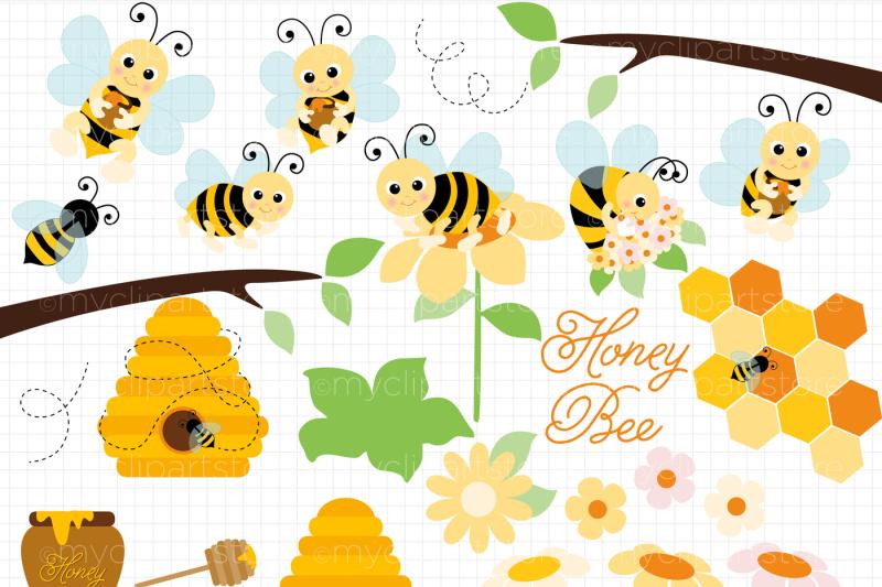 honey-bee-bumble-bees-vector-clipart-svg-cut-files