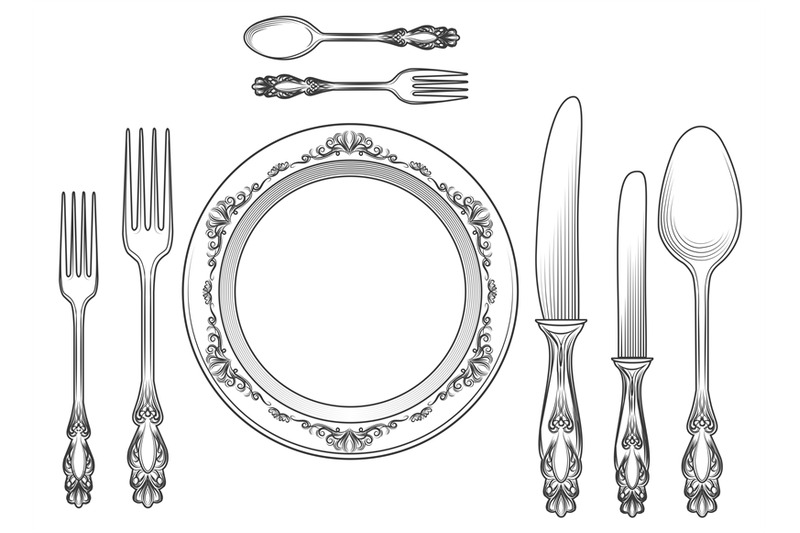 engraving-cutlery-and-dinner-plates