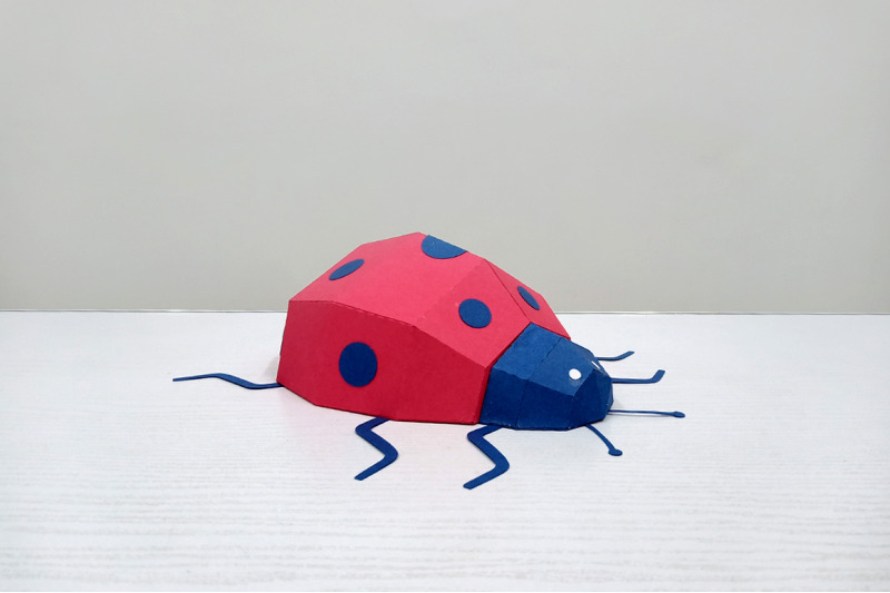 diy-lady-bug-beetle-3d-papercraft