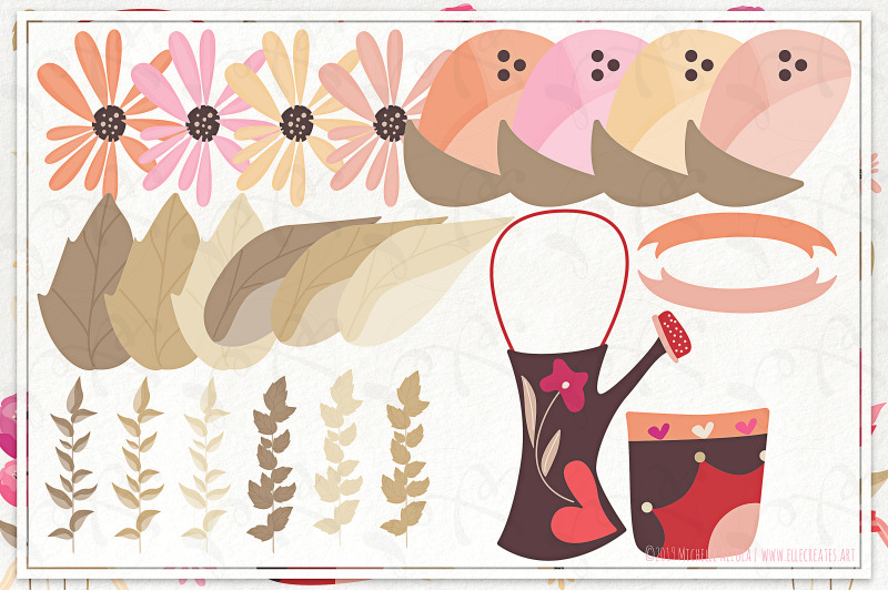 springtime-03-red-and-pink-vector-clipart