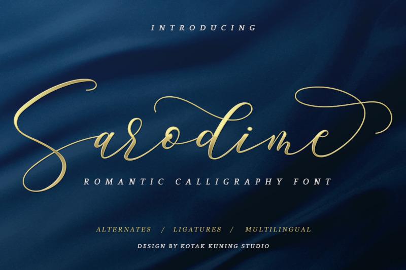sarodime-romantic-script