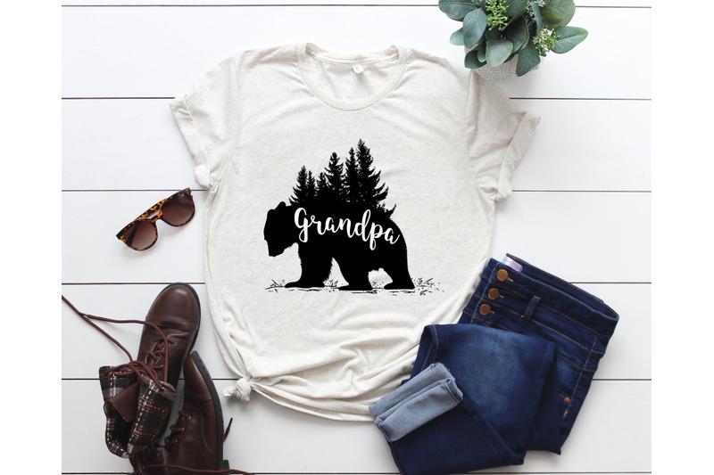 Grandpa Bear Svg Files Grandpa Bear Svg Bear Svg Grandpa Svg