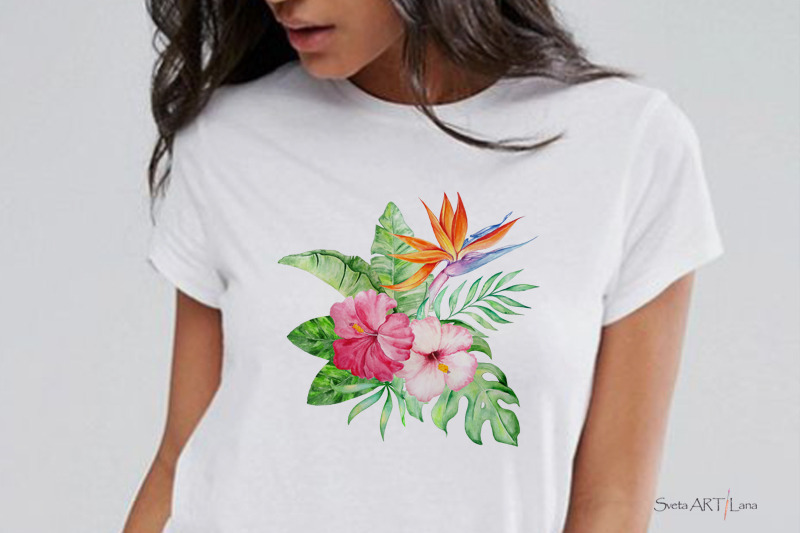 tropical-watercolor-set-clipart