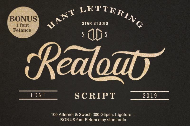 realout-script-font-bonus