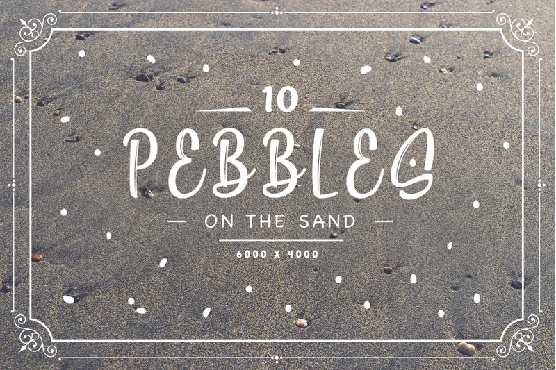 10-pebbles-on-the-sand-backgrounds