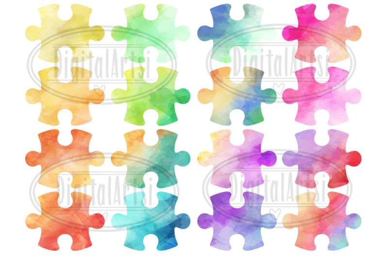 watercolor-puzzle-pieces-clipart