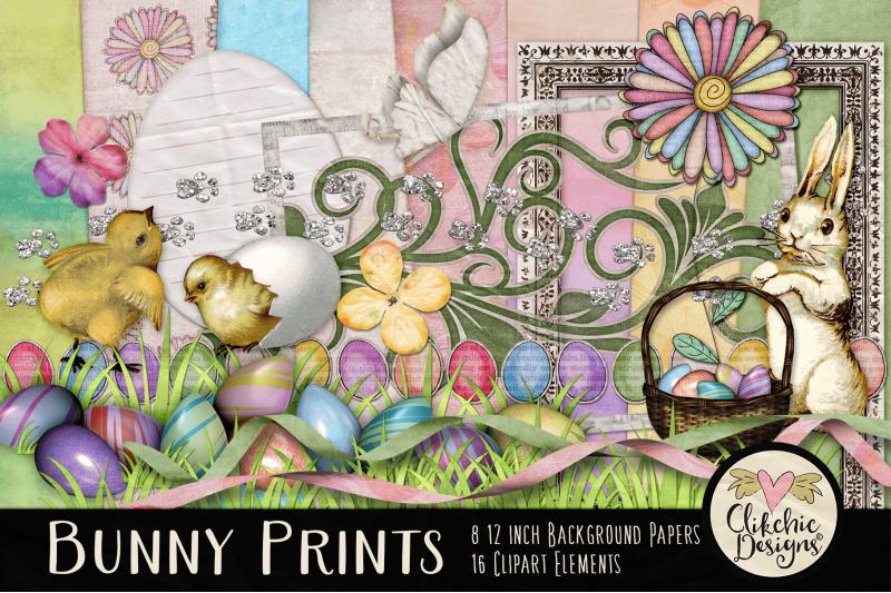 easter-digital-scrapbook-kit-bunny-prints-spring-clipart