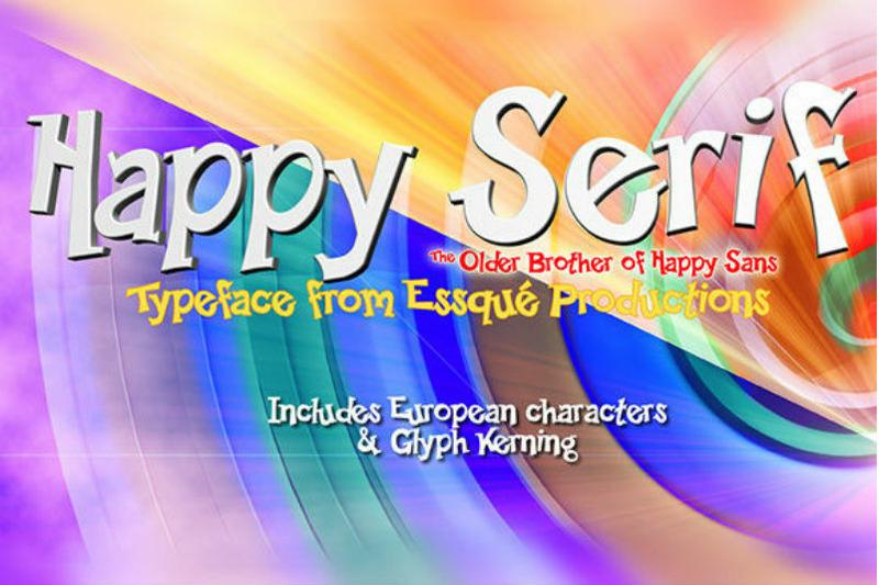 happy-serif-font