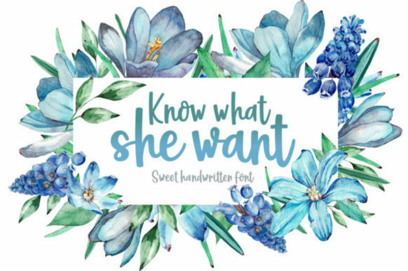 know-what-she-want-font