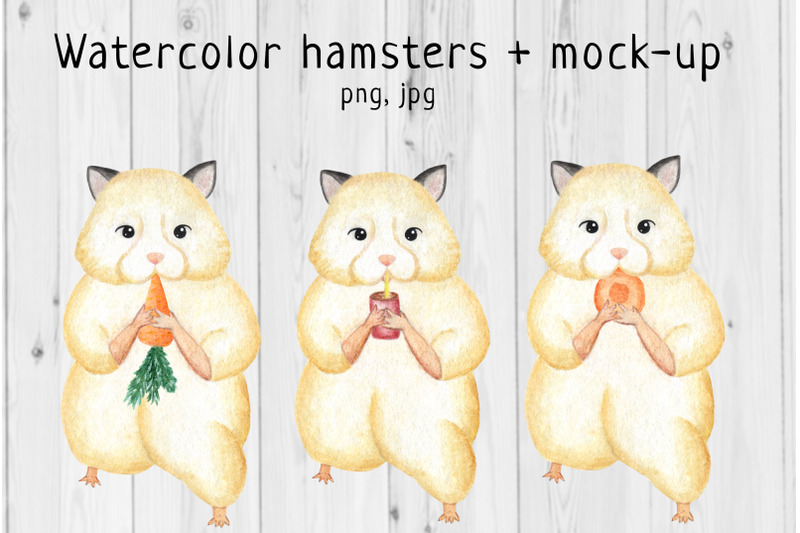 watercolor-hamster-mock-up