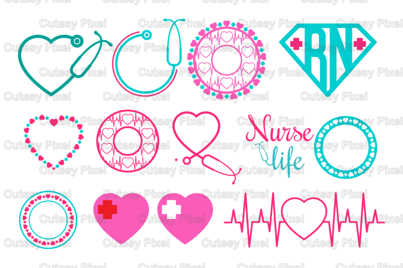 nurse-monogram-svg-cutting-file-nurse-desings-svg-dxf-cricut-design-space-silhouette-studio-digital-cut-files