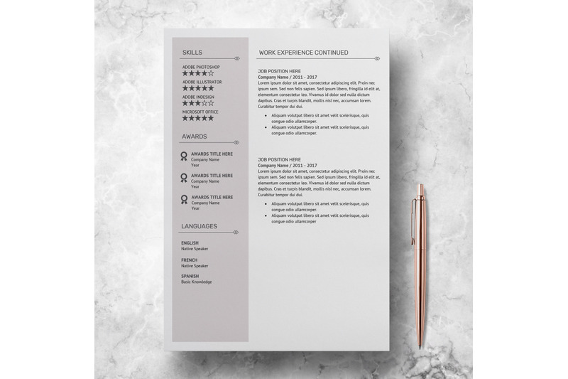 modern-resume-template-resume-design-template-amanda