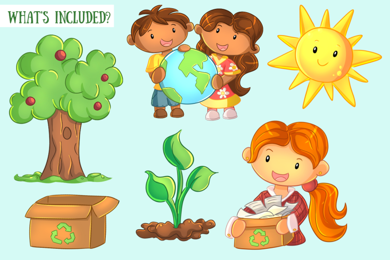 earth-day-clip-art-collection