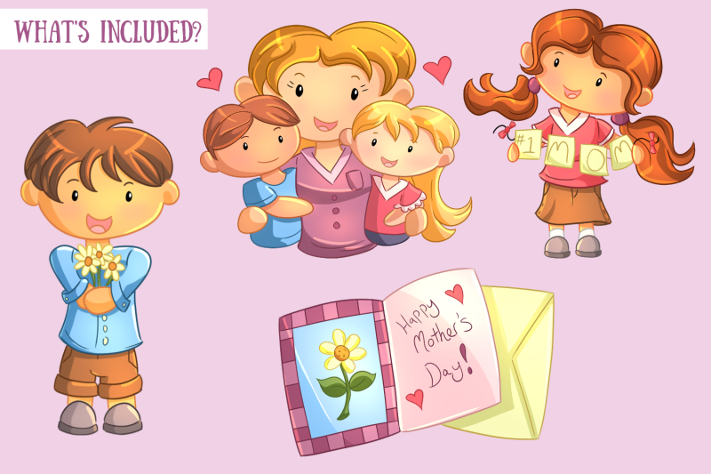 mother-039-s-day-clip-art-collection