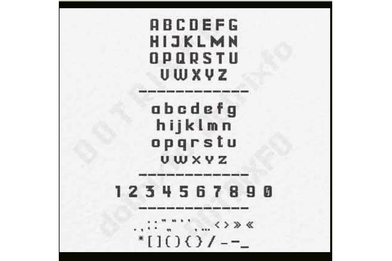 dotrixfo-font