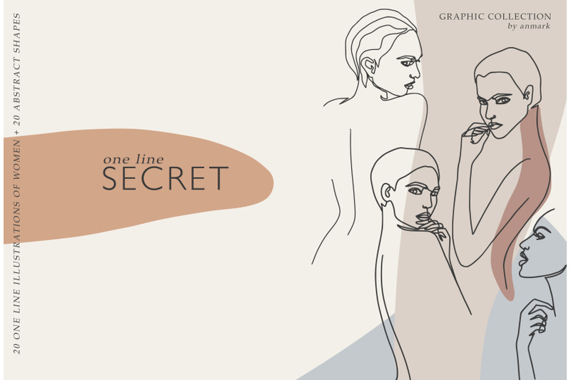 one-line-secret-graphic-collection