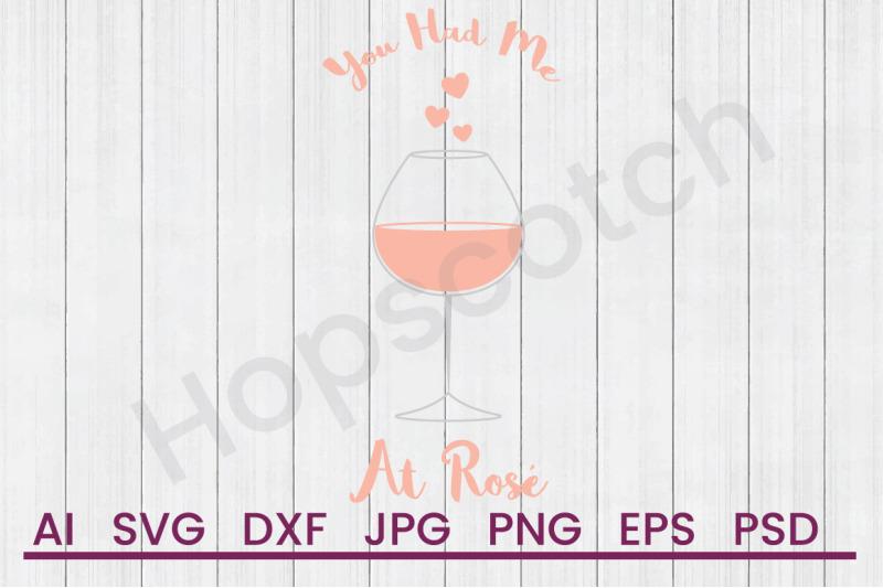 glass-of-rose-svg-file-dxf-file