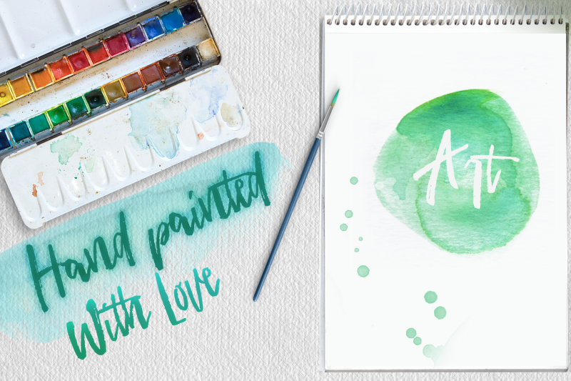 40-turquoise-watercolor-washes