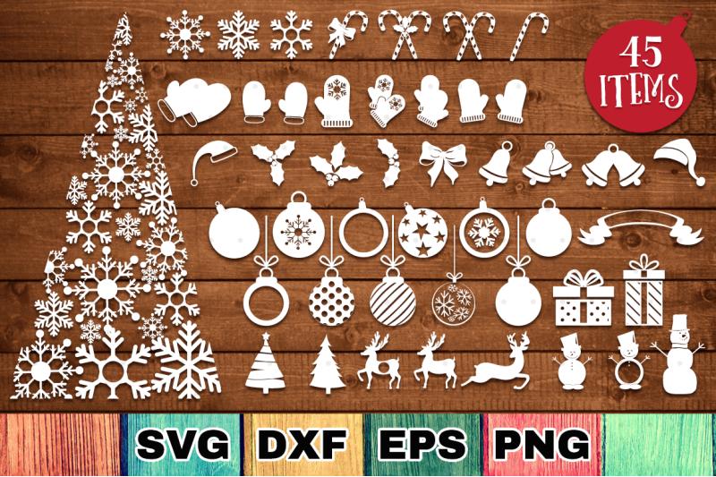 The Huge Christmas Craft Bundle By Thehungryjpeg Thehungryjpeg Com