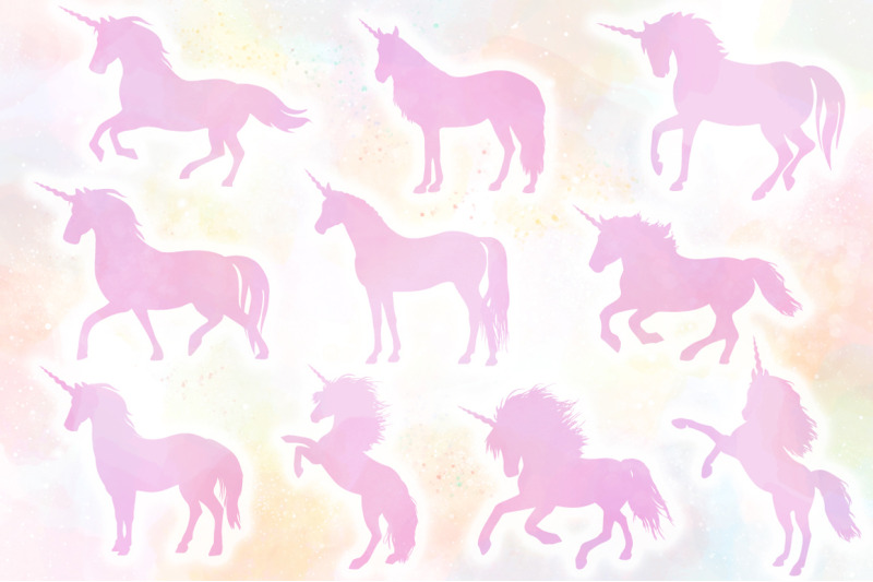 Unicorn Svg Bundle The Complete Craft Collection By Anastasia