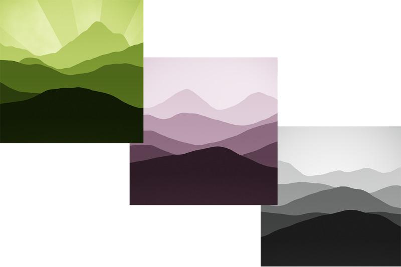 sunset-mountain-backgrounds-bundle