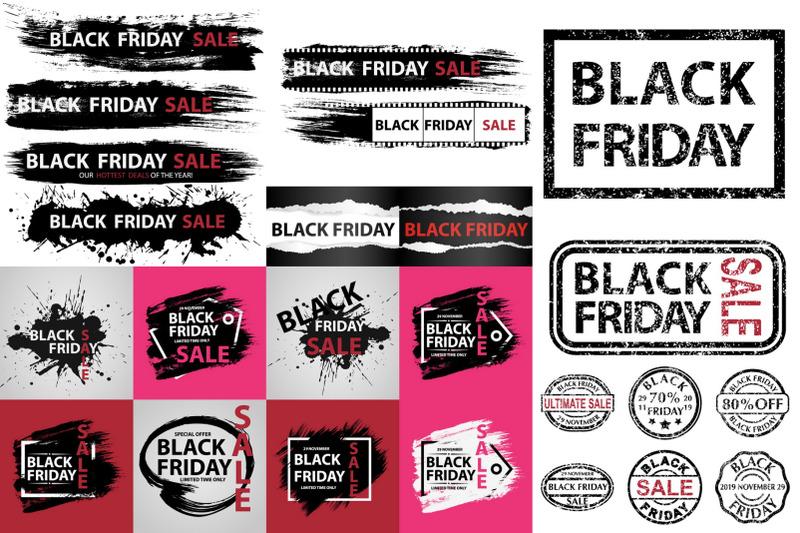 black-friday-29-november-2019-set