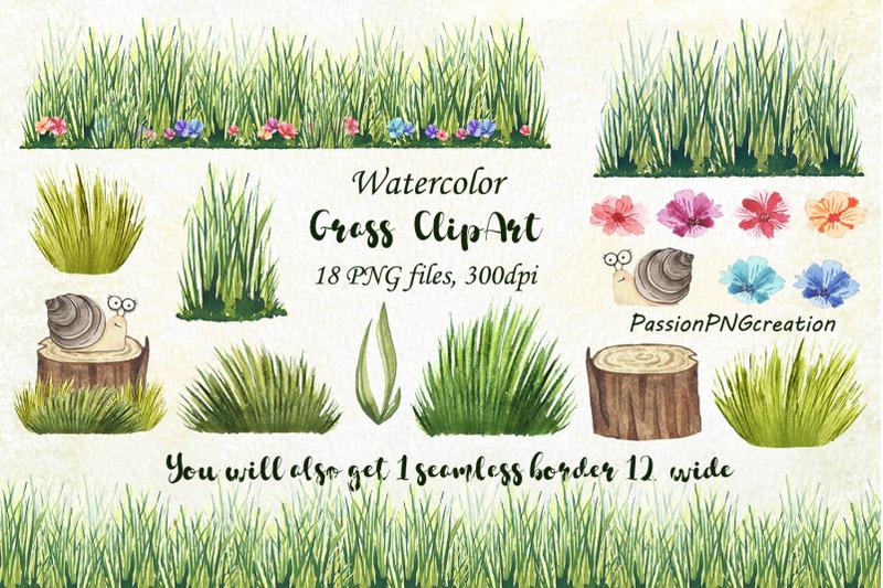 watercolor-grass-clipart