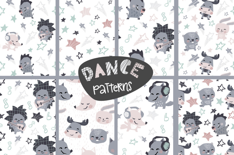 dancing-animals-music-kids-vector