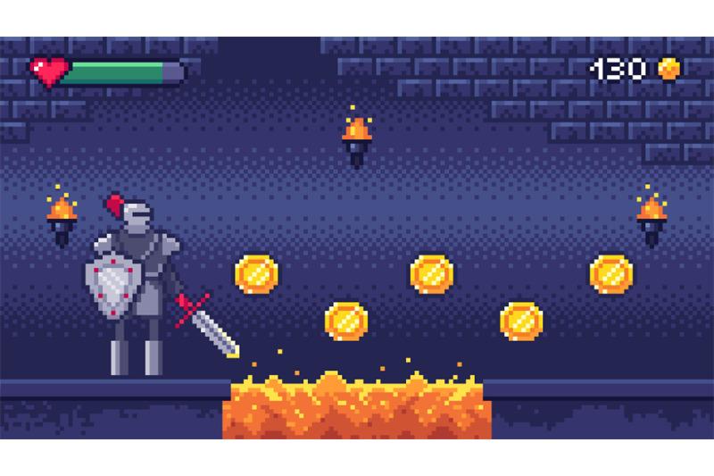 retro-computer-games-level-pixel-art-video-game-scene-8-bit-warrior-c