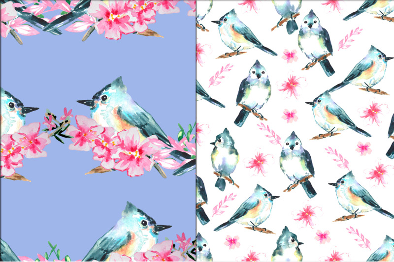 patterns-with-birds-and-sakura