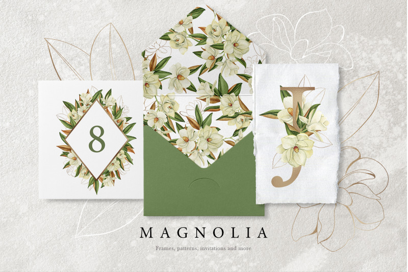 magnolia-watercolor-set