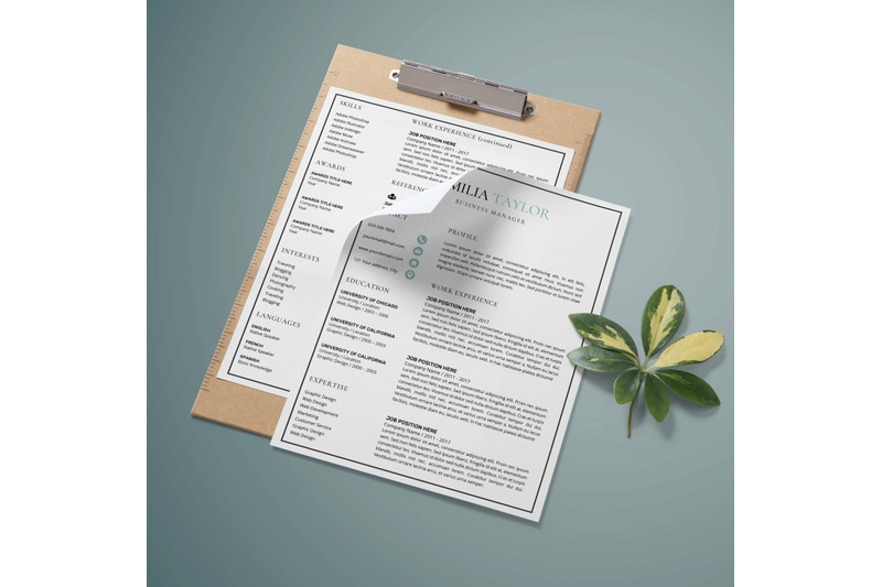 resume-template-creative-resume-design-emilia