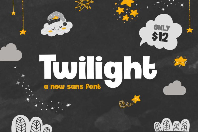 twilight-font