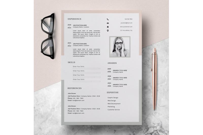 modern-resume-template-cv-template-cover-letter-emily