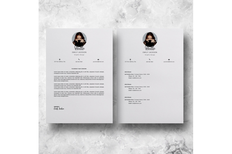 professional-resume-template-resume-with-photo-emily