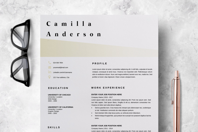 resume-template-microsoft-word-professional-cv-layout-camilla