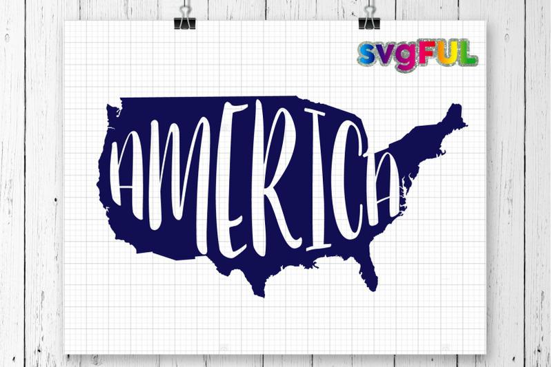America Svg Fourth Of July Svg United States Flag Svg