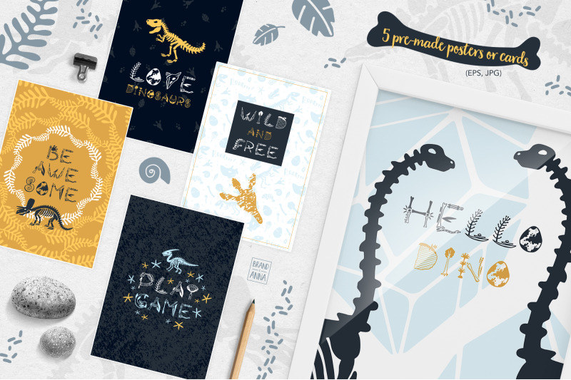 dinosaur-skeletons-vector-clipart-alphabet-patterns-and-posters