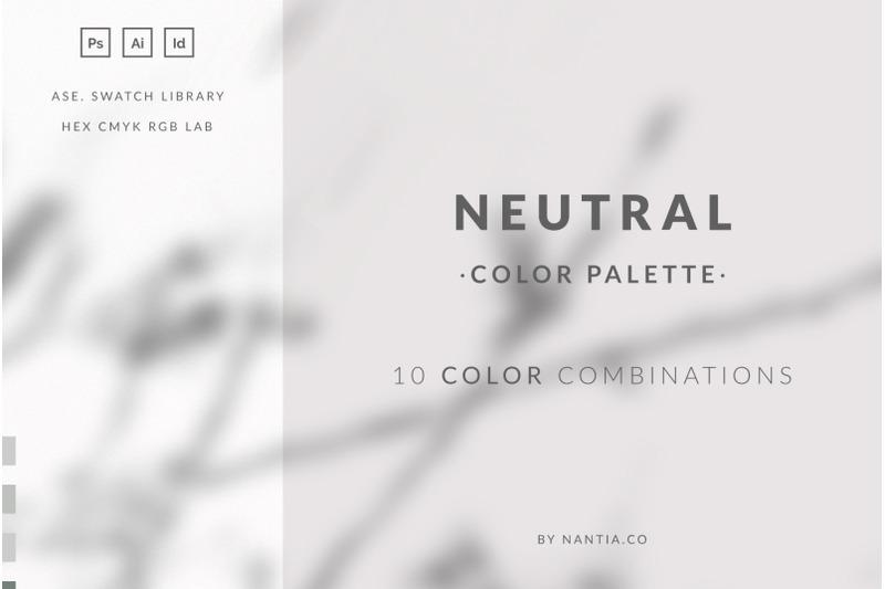 neutral-color-palette-collection