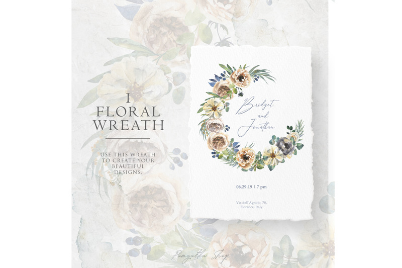 delicate-watercolor-flowers-and-floral-wreath
