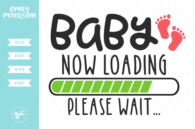 baby-now-loading-please-wait-svg-dxf