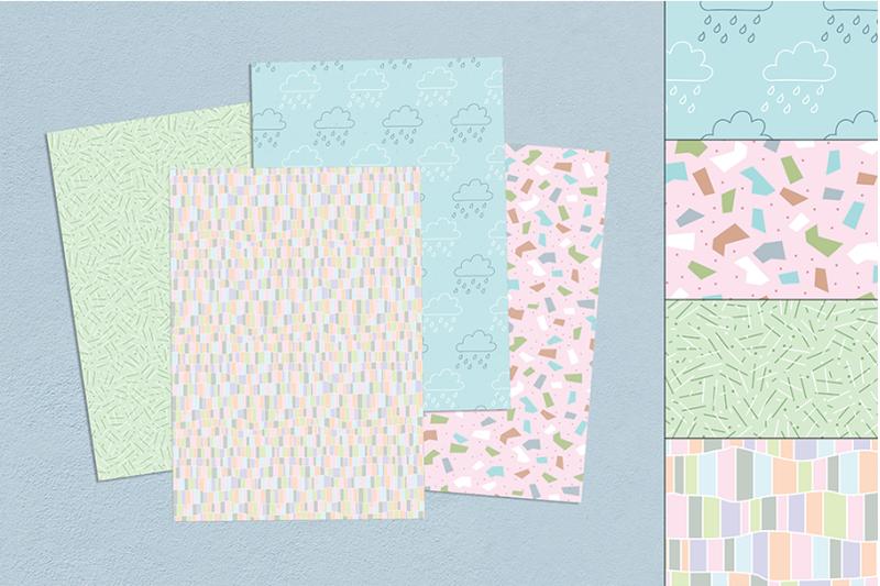 pastel-80-039-s-seamless-patterns