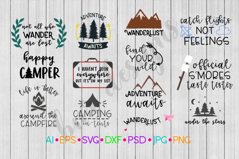 adventure-svg-bundle-camp-svg-travel-svg-svg-file-dxf