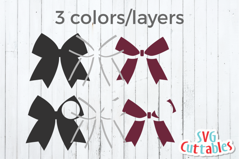Cheer Bow Cheerleader Svg Cut File By Svg Cuttables