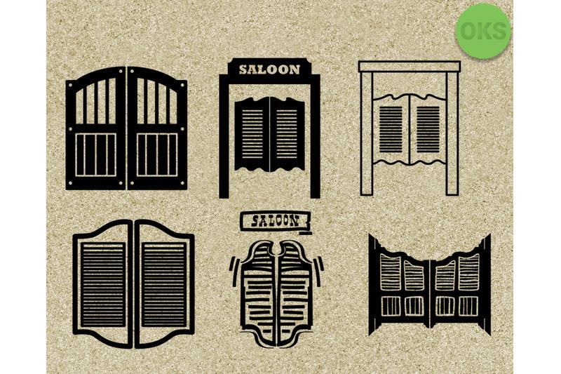 saloon-door-svg-vector-clipart