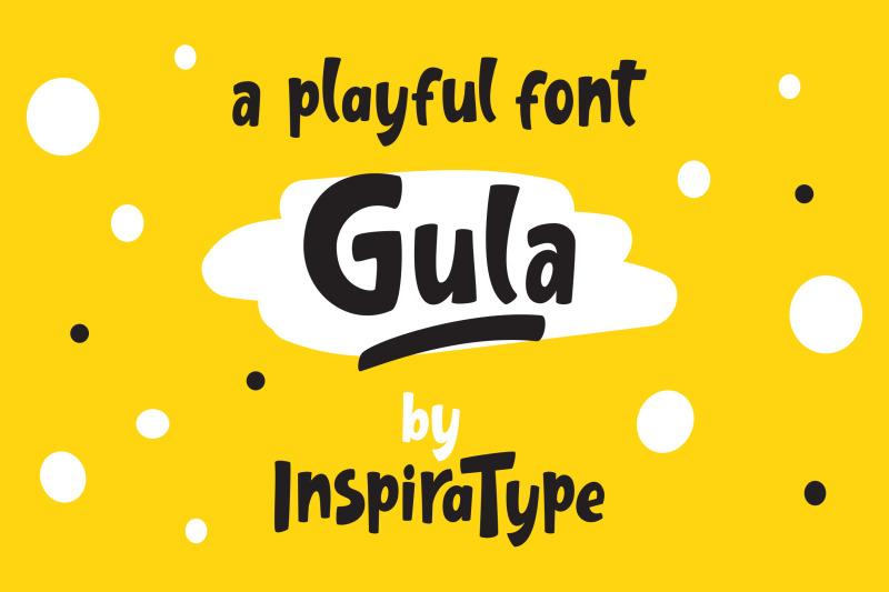 gula-playful-font